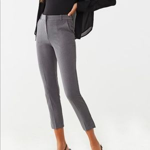 Heathered Ankle Pants